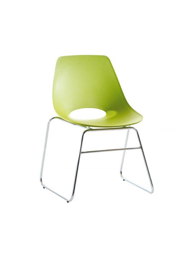 Kopio Chome Frame Chair