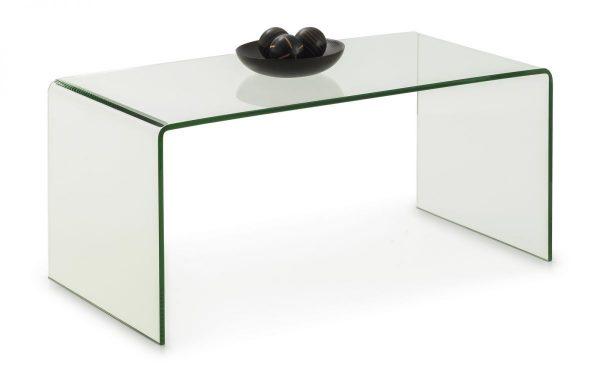 amalfi bent glass coffee table