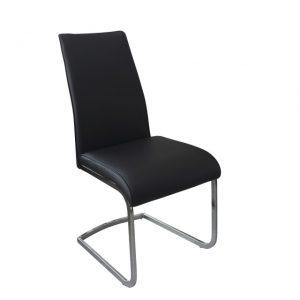 Avante black dining chair