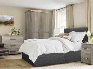 Solo grey Bedroom Set