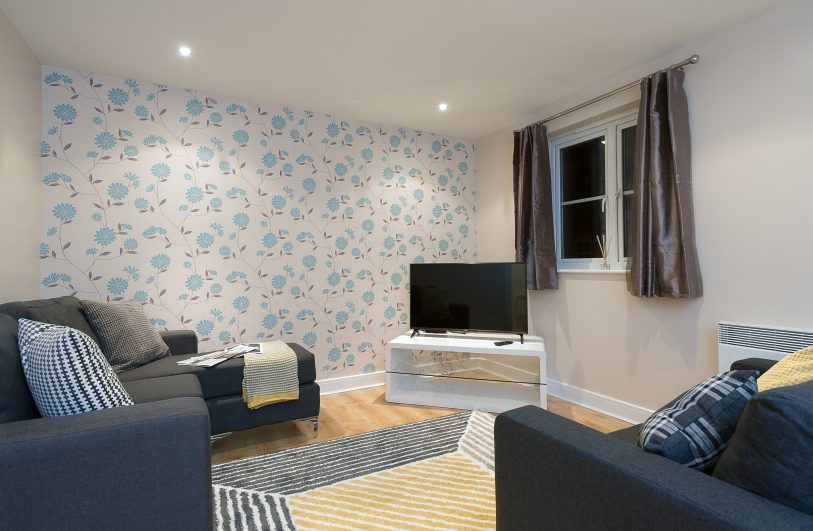 Serviced Accommodation in Colchester Second Property Living Room