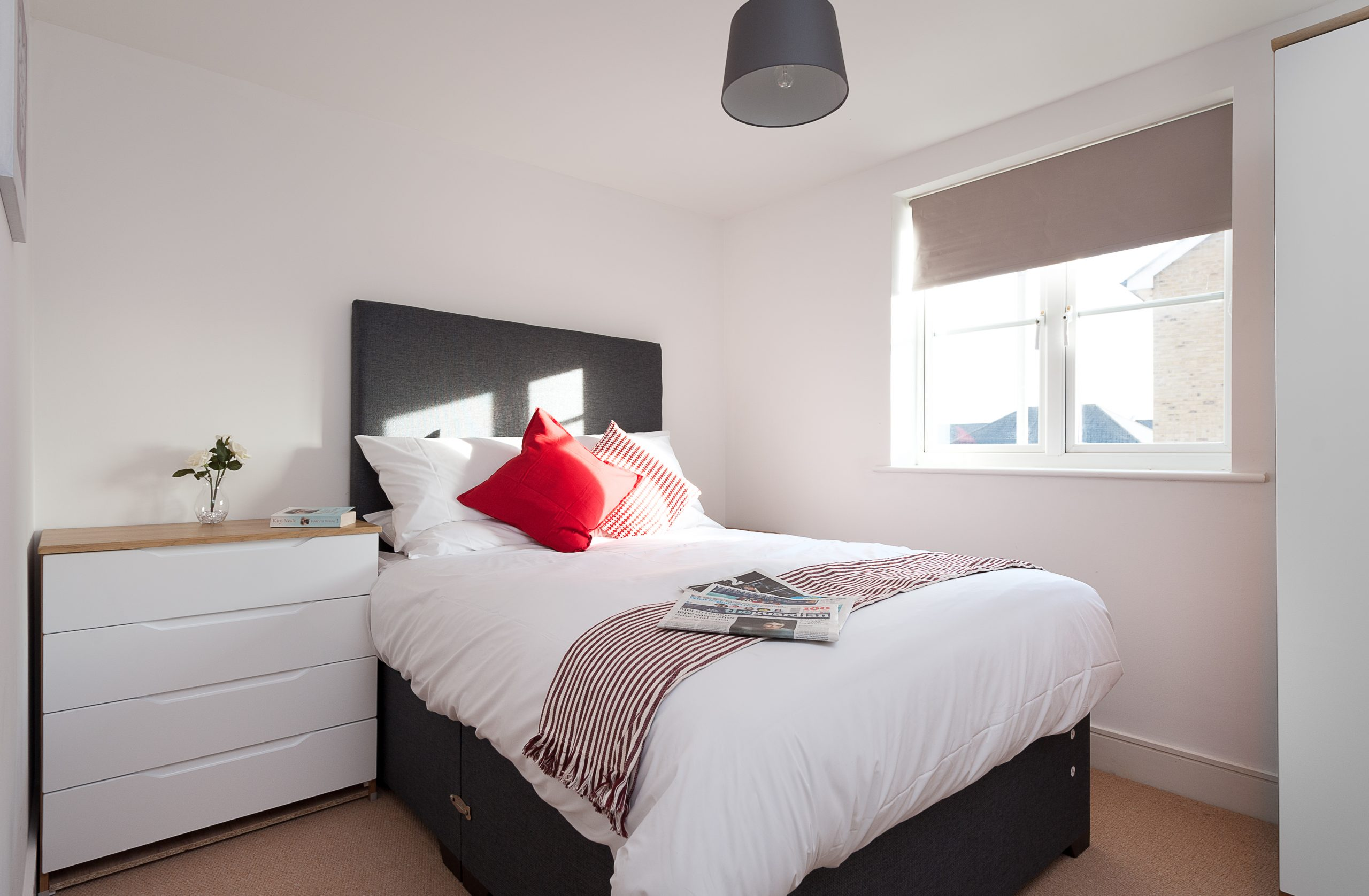 Serviced Accommodation Colchester First Property Bedroom