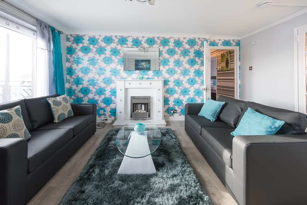 Serviced Accommodation in Glasgow Living Room