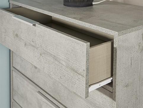 Concrete Drawers Detail