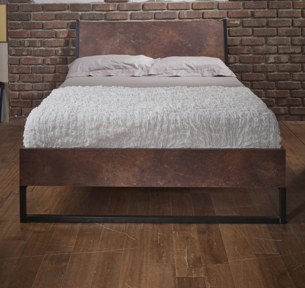Diego Copper Double Bed