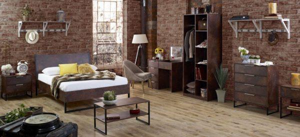 Diego Copper Main Room Set